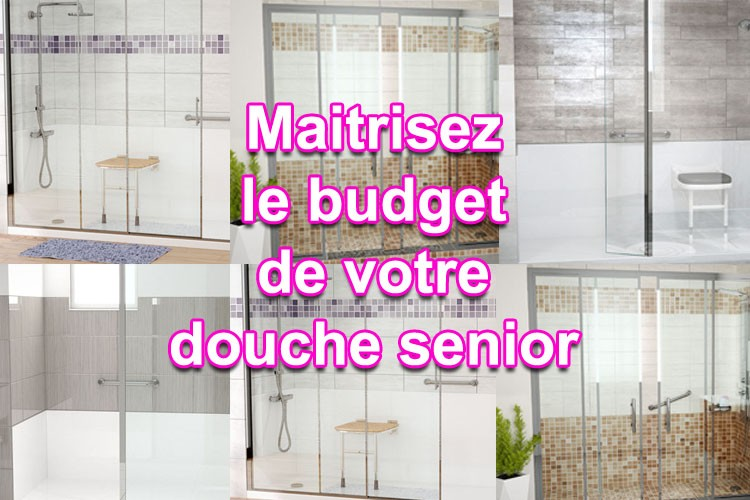 quel budget pour une douche senior et douche plain pied. Black Bedroom Furniture Sets. Home Design Ideas